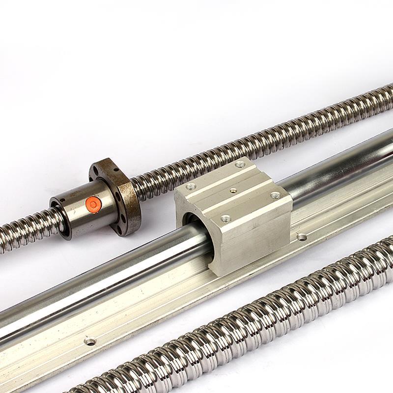 sbr25uu balero lineal 25MM CNC axis linear bearing tbr motion sliding support-2