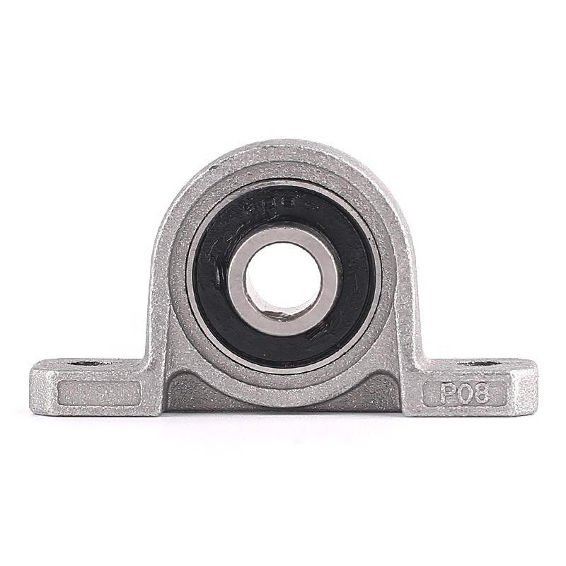 Aluminum alloy pillow block bearing UFL006 zinc alloy housing KP006