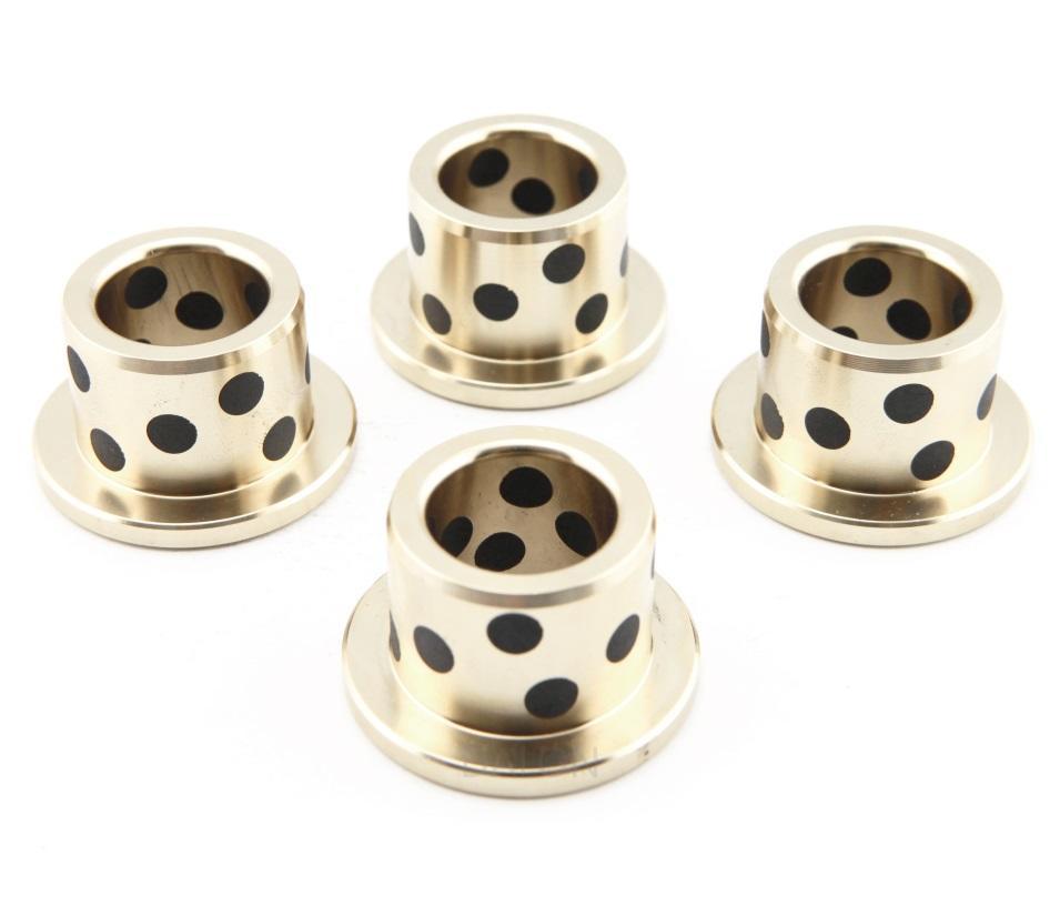 Flange PTFE brass metal plain fan motor bearing