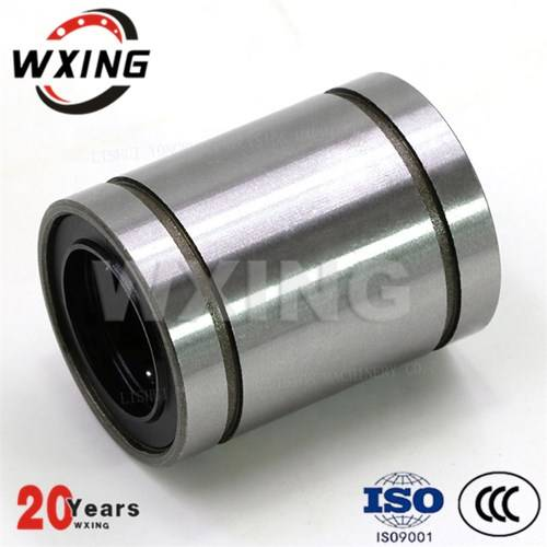 Linear Motion Bearings Manufacturing Plant Double Rubber Seals