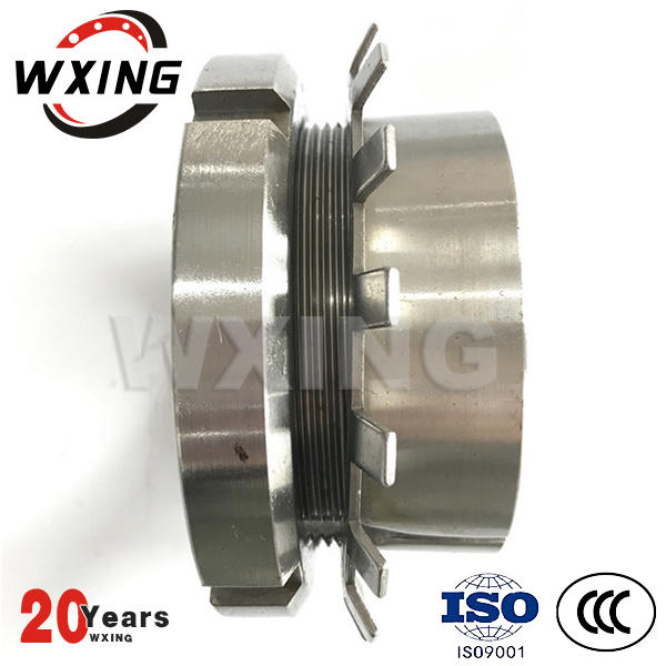 Adapter sleeve bearing for plain or stepped shafts