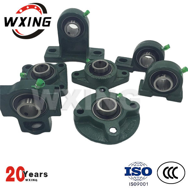 Pillow block bearing for production line