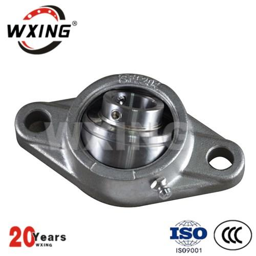 2 Bolt Bearing Flange Unit Pillow Block Ball Bearing For Agricultural Machinery