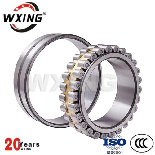 The rolling body is a cylindrical roller bearing of a steel ball cylindrical roller bearing