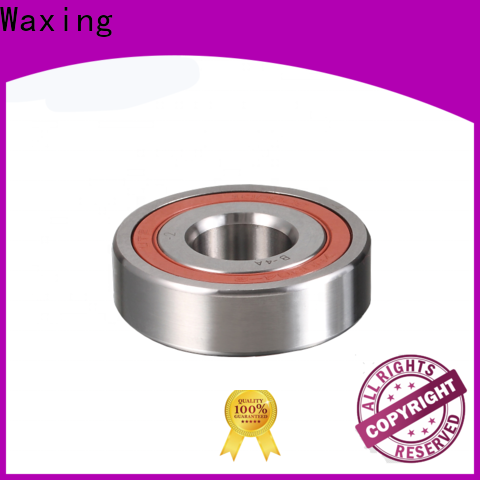 Waxing angular contact ball bearing assembly low friction for heavy loads