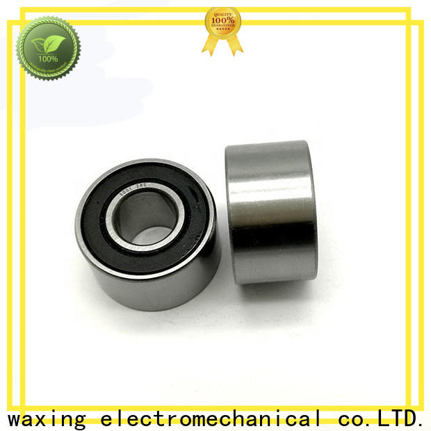 Waxing angular contact ball bearing assembly low-cost wholesale