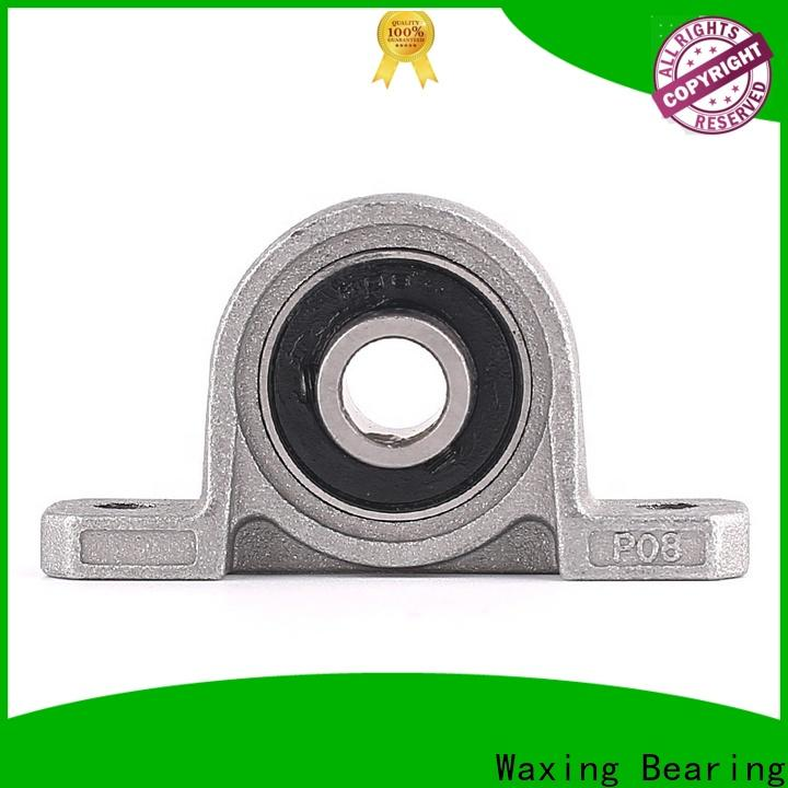 Waxing functional pillow block bearings for sale manufacturer high precision