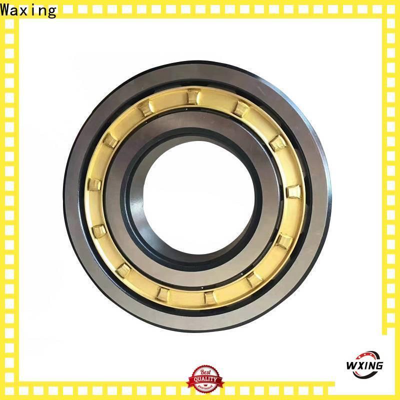 Waxing cylindrical roller bearing types high-quality for high speeds