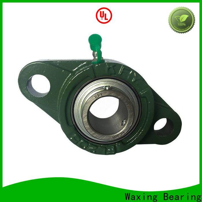 Waxing pillow block mounted bearing fast speed lowest factory price