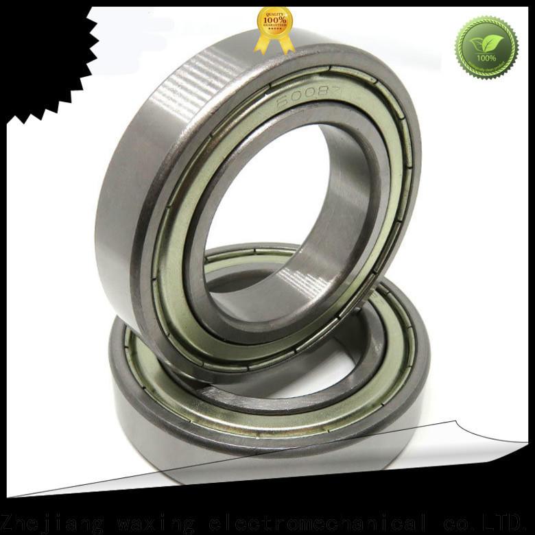 Waxing top deep groove bearing factory price oem& odm