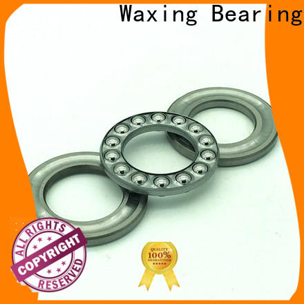 Waxing one-way single direction thrust ball bearing factory price top brand