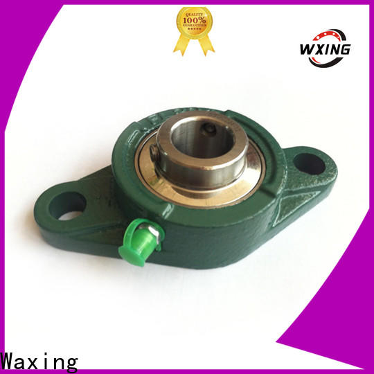 Waxing small pillow block bearings fast speed lowest factory price