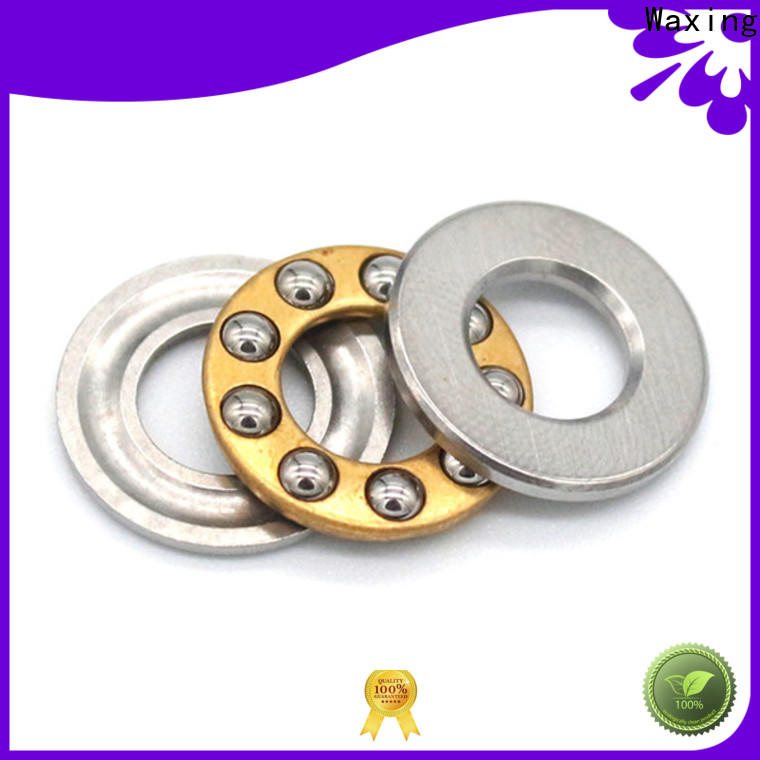 Waxing single direction thrust ball bearing excellent performance for axial loads