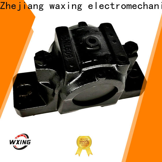 Waxing easy installation heavy duty pillow block bearings free delivery high precision