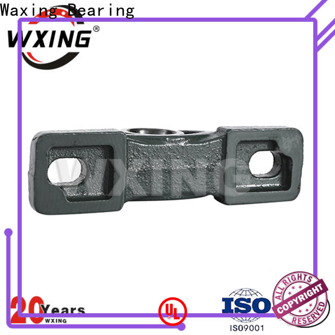 Waxing easy installation pillow block mounted bearing lowest factory price