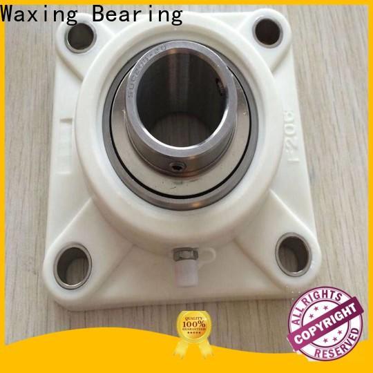 Waxing plummer block bearing assembly high precision