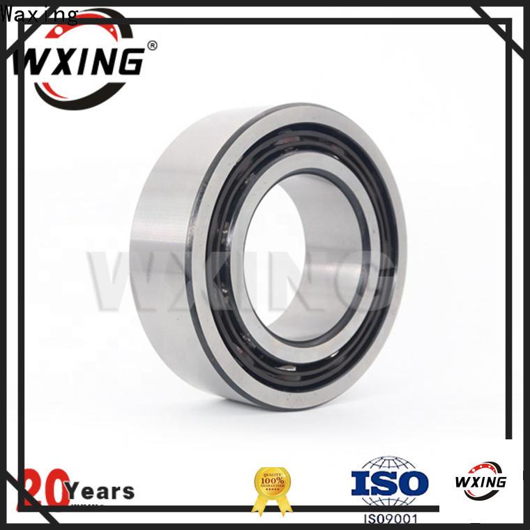Waxing single row angular contact ball bearing manufacturer