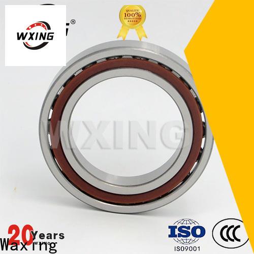 Waxing Latest single row angular contact ball bearing supply